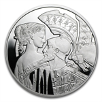 Niue 2010 Proof Silver $1 Famous Love Stories - Paris and Helen