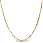 Box Chain 14k Gold Necklace - 30 in.