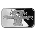 1 oz APMEX Silver Bar (Original Design) .999 Fine