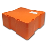 Empty 500-Coin 1 oz Silver Canadian Privy Monster Box (Orange)