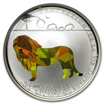 Togo 2011 Silver 1000 Francs CFA Wildlife Protection - Lion Prism