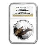 2010 1/2oz Proof Silver Moray Eel - Sea Life I - NGC PF-69 UCAM