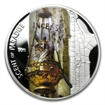 Palau 2011 Proof Silver $5 Scent of Paradise - Incense