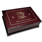 2012 Republic of Palau 5 oz Proof Gold Year of the Dragon