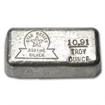 Star Metals 10.91 oz Silver Bar - .999 Fine