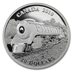 2010 1 oz Silver Canadian $20 Great Locomotives - Selkirk