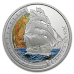 2012 1oz Proof Silver Cutty Sark - Ships that Changed the World