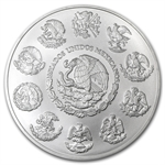 2012 5 oz Silver Mexican Libertad (Brilliant Uncirculated)