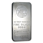 10 oz Engelhard Silver Bar (Tall, E) .999 Fine