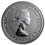 2012 1/4 oz Silver Canadian $20 Queen's Diamond Jubilee Coin