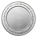1 oz Happy Father's Day Enameled Silver Round (w/Gift Box & Cap)