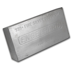 100 oz Engelhard Silver Bar (Struck - Plain) .999 Fine