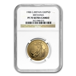 1988 1/2 oz Proof Gold Britannia PF-70 UCAM NGC - Registry Set