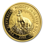 2001 1/4 oz Australian Gold Nugget