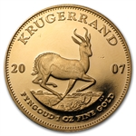 2007 1 oz Proof Gold South African Krugerrand