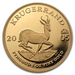 2005 1 oz Proof Gold Krugerrand (Star of Africa)