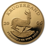 2006 1 oz Proof Gold South African Krugerrand