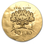 2012 1/4 oz Gold Proof Legendary Collection - Saint-Louis