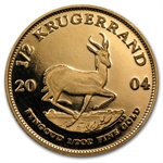 2004 1/2 oz Proof Gold South African Krugerrand