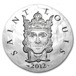 2012 10 Euro Silver Proof Legendary Collection - Saint-Louis