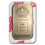 1 oz Engelhard Silver Bar (Tall, Maple / Smooth, Sealed)