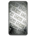 100 oz Johnson Matthey Silver Bar (Pressed / Matching Serial #s)