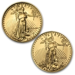 1986-2012 1/10 oz Gold American Eagle Set