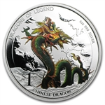 2012 1 oz Proof Silver Dragons of Legend - Chinese Dragon