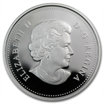 2011 Proof Silver Canadian $1 - 100th Anniversary of Parks-Canada