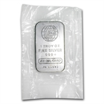 1 oz Engelhard Silver Bar (Sealed - Very Nice)