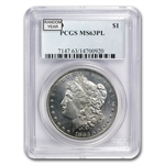 1878-1904 Morgan Dollars - MS-63 PL Proof Like PCGS