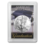 2013 1 oz Silver Eagle in Graduation Design Harris Holder