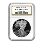 1986-2012 Proof Silver American Eagle Set PF-69 UCAM NGC