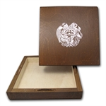 Empty 1 oz Silver Armenia 500 Drams Noah's Ark 500 Coin Box
