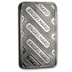 10 oz Engelhard Platinum Bar ('E' logo, w/o Assay) .9995 Fine