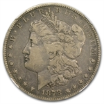 1878-S Morgan Dollar - VF-25 NGC VAM-27 Long Nock Top-100