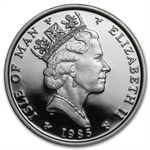 1985 1 oz Isle of Man Platinum Noble (Proof &/or Uncirculated)