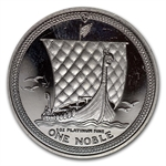 1988 1 oz Isle of Man Platinum Noble (Proof &/or Uncirculated)