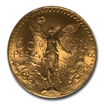 Mexico 1930 50 Pesos Gold Coin - MS-64 PCGS