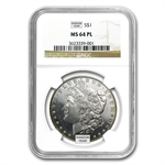 1878-1904 Morgan Dollars - MS-64 PL NGC - Proof Like