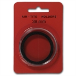 Air-Tite Holder w/ Black Gasket - 38 mm (10 Count)