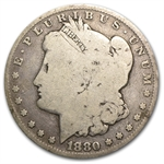 1880 Morgan Dollar - Good VAM-1A Knobbed 8 Top-100