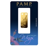 Hummingbird - 1/5 oz Proof Gold Pamp Ingot Pendant