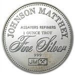 1 oz Johnson Matthey (Freedom of Speech) Silver Round