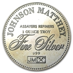 1 oz Johnson Matthey (Freedom of Religion) Silver Round