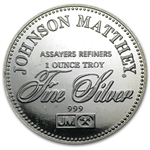 1 oz Johnson Matthey (Right to Privacy) Silver Round
