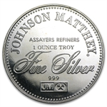 1 oz Johnson Matthey (Right to Counsel) Silver Round