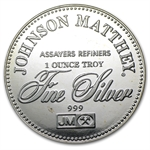 1 oz Johnson Matthey (Right to Trial by Jury) Silver Round