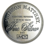 1 oz Johnson Matthey (Right to Vote) Silver Round