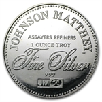 1 oz Johnson Matthey (Freedom of the Press) Silver Round